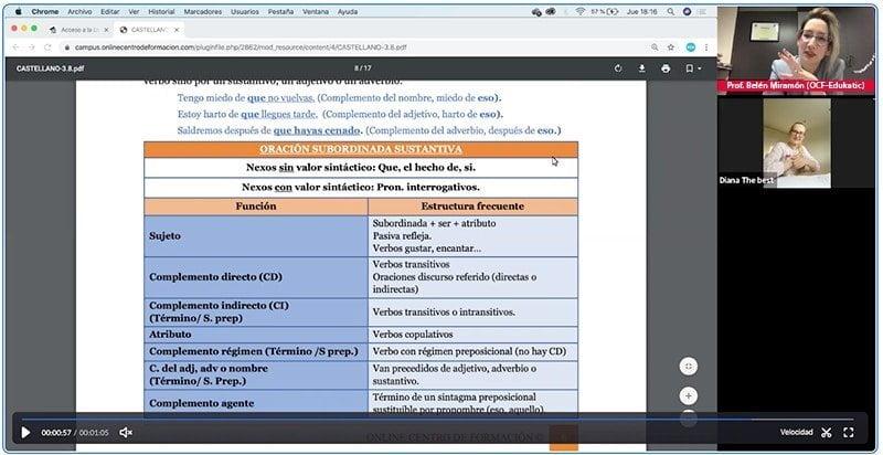 Clases online para Bachillerato y Pruebas Universidad