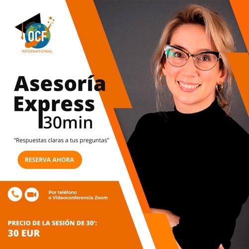 Asesoría Express para estudiar en España