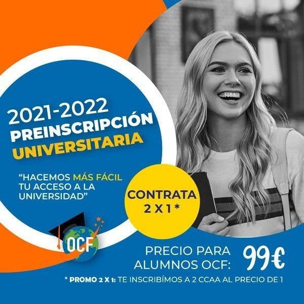 Preinscripcion universitaria alumnos 2021