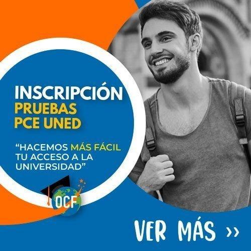 Inscripción a las Pruebas PCE UNED
